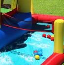 Hüpfburg HappyHop Wasserschloß Arielle 9016
