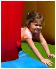 Happy Hop Hüpfburg Mega Slide Art. 9082N + Gebläse W4E
