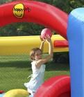 Hüpfburg HappyHop Spielzeugland Dschini mit Rutsche Art. 9163