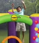 Hüpfburg HappyHop Bubbles mit Rutsche Art. 9201B