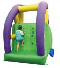 HappyHop Wasserrutsche Twin mit Pool 12,9 qm